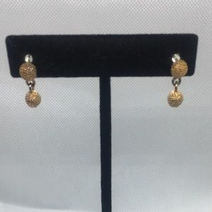 4 for $12: Unique Gold Tone Dainty Earrings